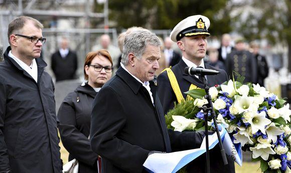 Juha Sipilä ja Sauli Niinistö