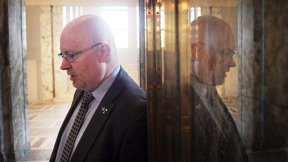 Työministeri Jari Lindström