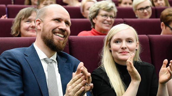 Touko Aalto ja Maria Ohisalo.