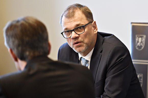 Juha Sipilä ja Kai Mykkänen.