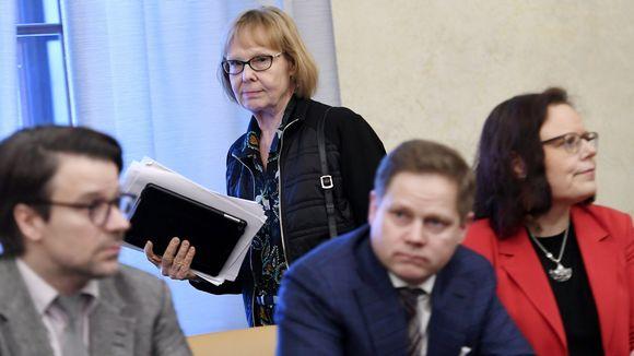 Ville Niinistö, Annika Lapintie, Markus Lohi ja Mia Laiho.