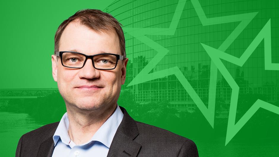 Видео: Keskustan puheenjohtaja Juha Sipilä -grafiikka