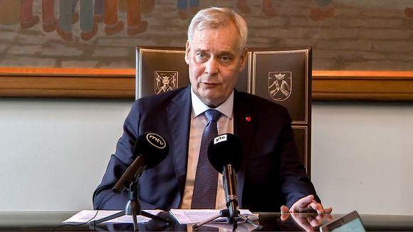 Antti Rinne 26. kesäkuuta 2019.