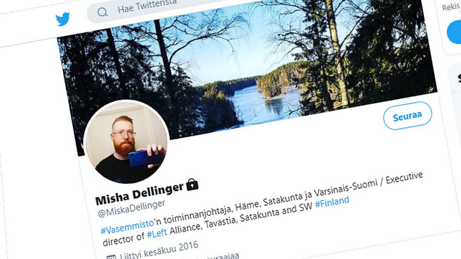 Left Alliance local chapter boss quits after posting violent tweets