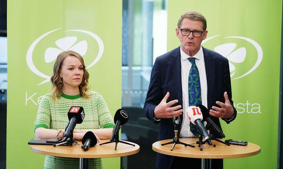Katri Kulmuni ja Matti Vanhanen.