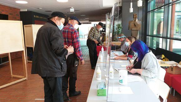 Kankaanpääsalin äänestyspaikka