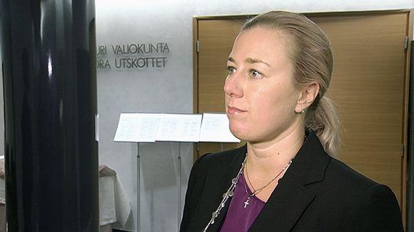 Valtiovarainministeri Jutta Urpilainen.