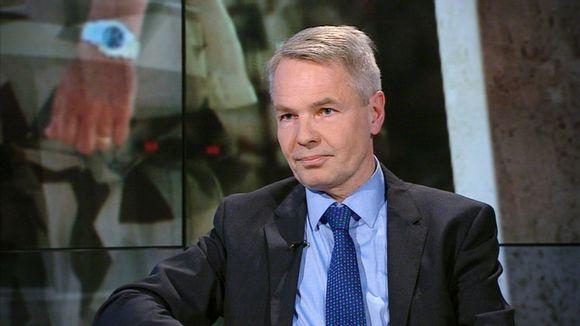 Kehitysministeri Pekka Haavisto A-studion vieraana.