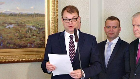 Juha Sipilä ja kiky-paperi