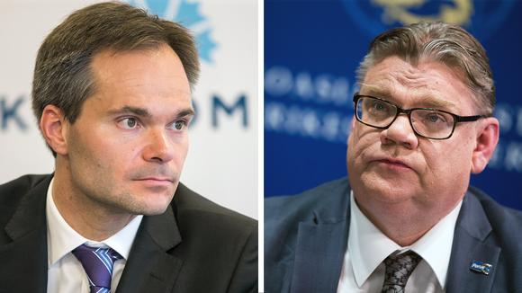 Kai Mykkänen ja Timo Soini