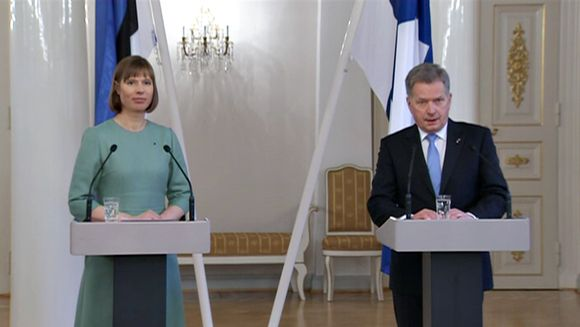 Kersti Kaljulaid ja Sauli Niinistö.