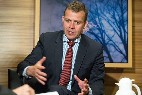 Valtiovarainministeri Petteri Orpo Ylen haastattelussa 27.06.2017.