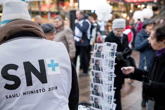 Sauli Niinistön vaalikampanja.