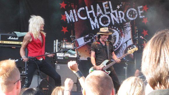 Porispere 2011, Michael Monroe