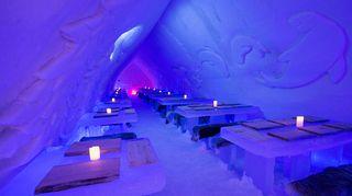 jääravintola Arctic Snow Hotel