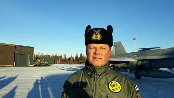 Lapin lennoston komentaja, eversti Antti Koskela