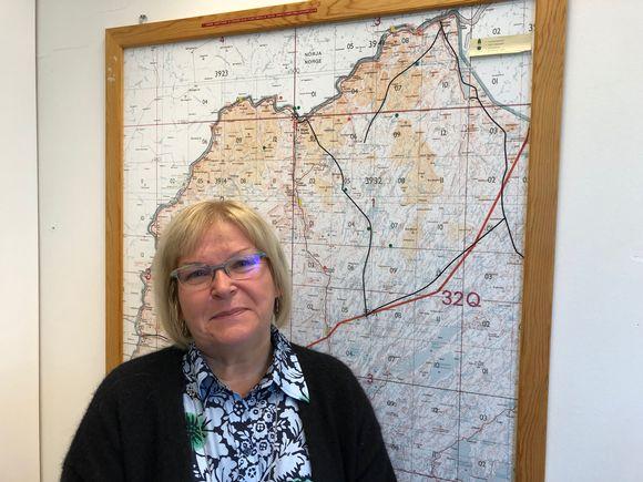 Euroopan Unionin pohjoisinta kuntaa Utsjokea johtaa varatuomariVuokko Tieva-Niittyvuopio.