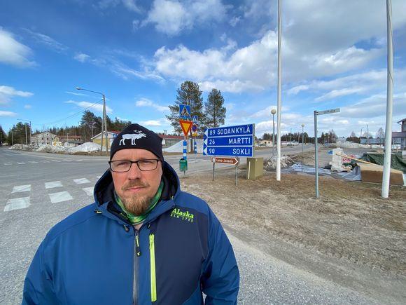 Kemin-Sompion paliskunnan poroisäntä Mika Kavakka. Savukoski 18.5.2020