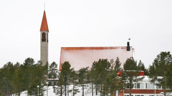 Hetan kirkko Enontekiöllä