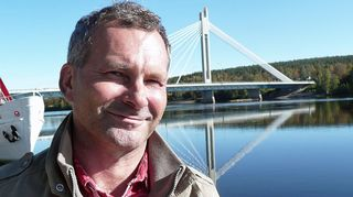 Lapin Ely-keskuksen kalastusasiantuntija Kare Koivisto