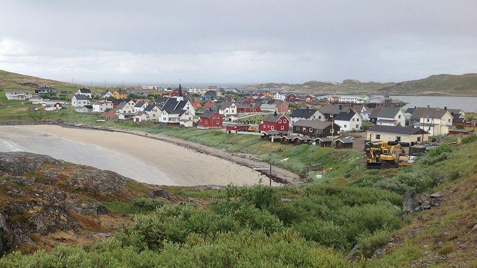 Pykeijan kylä Pohjois-Norjassa