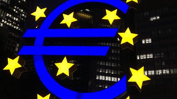 Euro-patsas Frankfurtissa