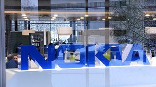 Teknologiayhtiö Nokian pääkonttori Espoossa.