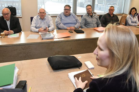 Teknologiateollisuuden ja Teollisuusliiton väliset työehtosopimusneuvottelut Helsingissä torstaina 2. tammikuuta