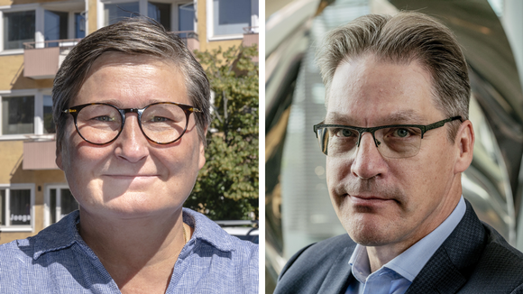 Tiina Helenius, pääekonomisti, eläkeyhtiö Elo ja Risto Murto, toimitusjohtaja, työeläkevakuutusyhtiö Varma