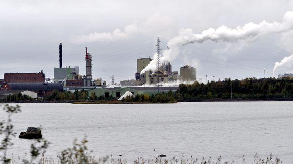 Stora Enson Veitsiluodon paperitehtaat Kemissä, 21. syyskuuta 2011.