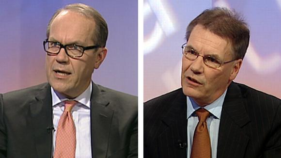 Jorma Ollila ja Olli-Pekka Kallasvuo