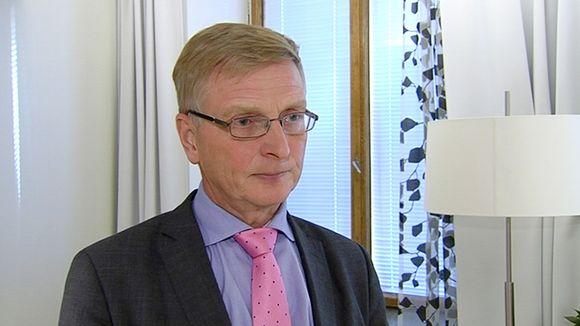 Valtioneuvoston kanslian omistajaohjausosaston osastopäällikkö Eero Heliövaara.