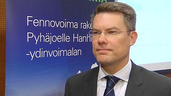 Fennovoiman toimitusjohtaja Toni Hemminki.