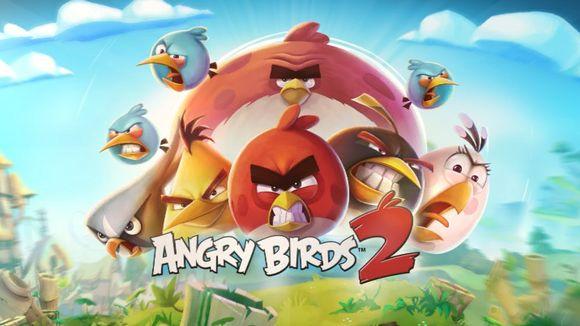 Angy Birds -mainoskuva.