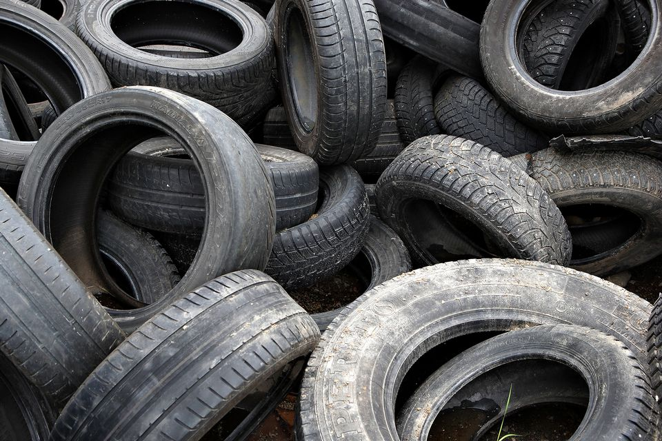 Finnish firm to start recycling waste tyres turn them for Old tyre uses