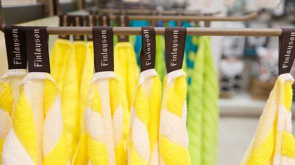 Finlaysonin pyyhkeitä.