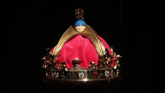 Suomen kuninkaan kruunu Museo Milavidassa
