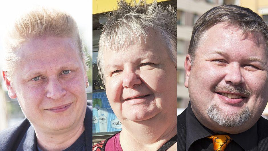 Tuomas Muraja, Aila Jeskanen ja Mika Ruusunen