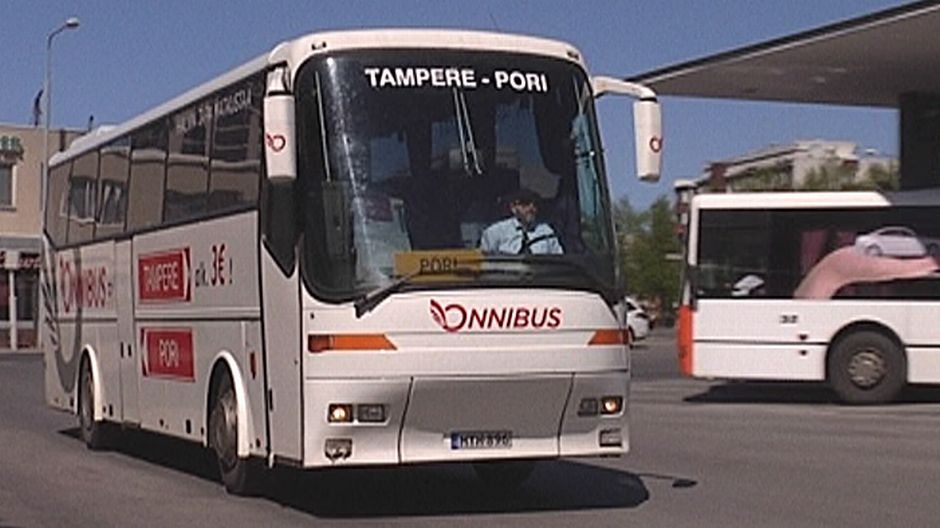 Rauma Tampere Bussi