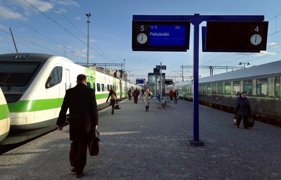 Oulun Juna Asema
