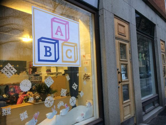 ABC-päiväkodin julkisivu Tampereella
