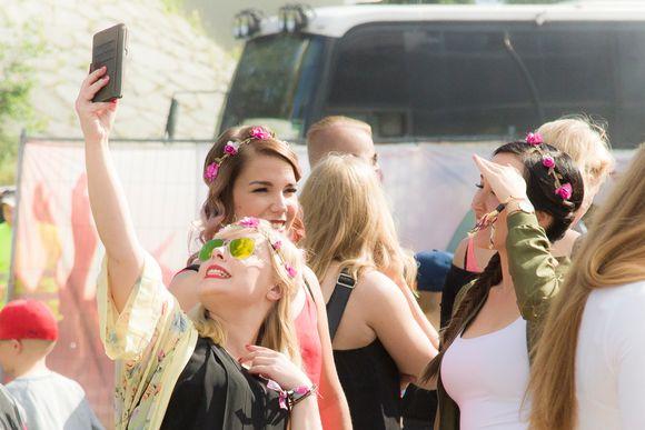Nuoriso, selfie, kesäloma, Tammerfest 2017