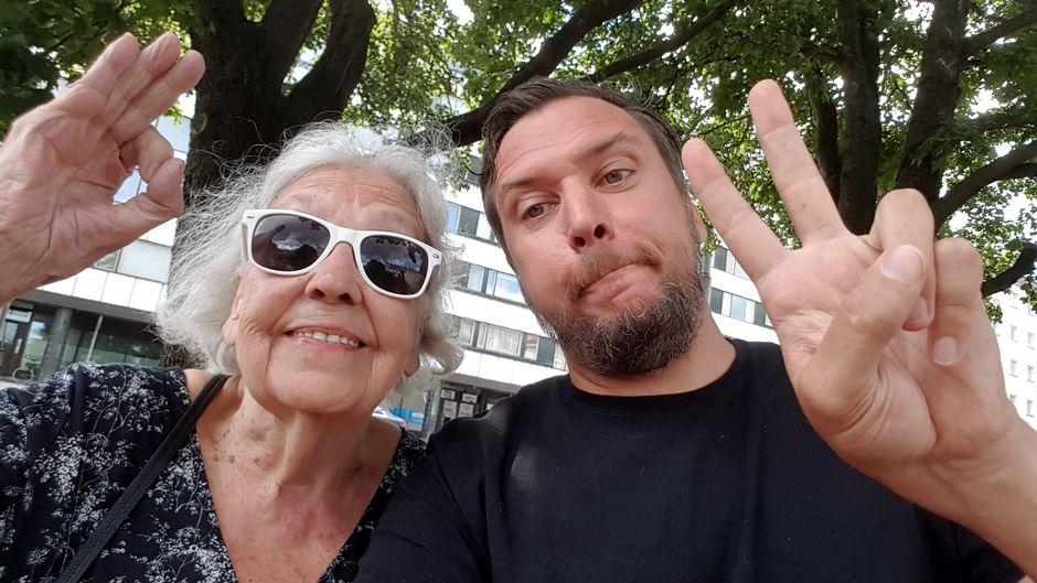 Eila Siimes ja Kalle Talonen