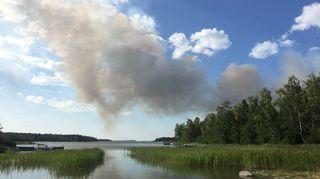 Pyhärannan metsäpalo