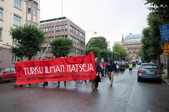 Turku ilman natseja -mielenilmaus