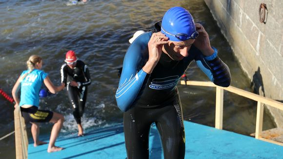 Uintimatka Aurajoessa oli 1,9 kilometriä.
