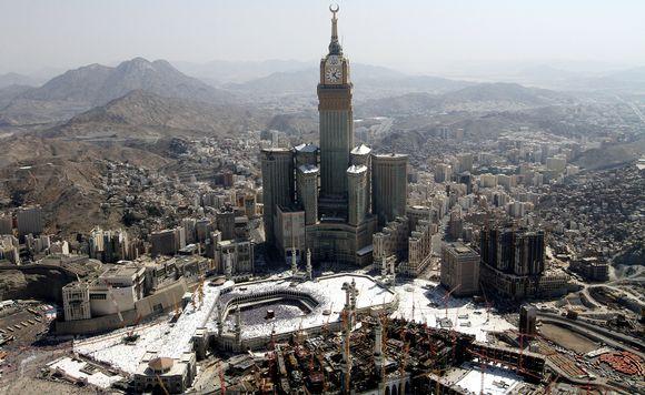 Abraj Al Bait -torni Saudi-Arabiassa.
