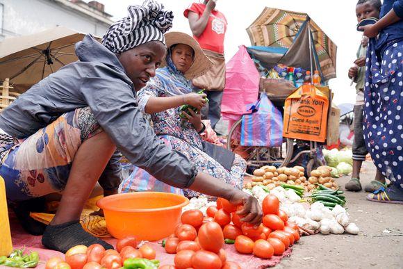Etiopia on yhä maailman köyhimpiä maita, mutta köyhyys vähentyy nopeasti.