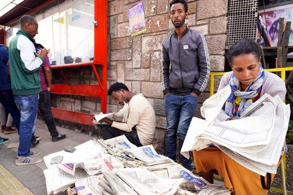 Etiopiassa toivotaan, että uuden pääministerin aikana sananvapaustilanne paranisi.