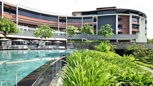 Capella Hotel Sentosan saarella Singaporessa